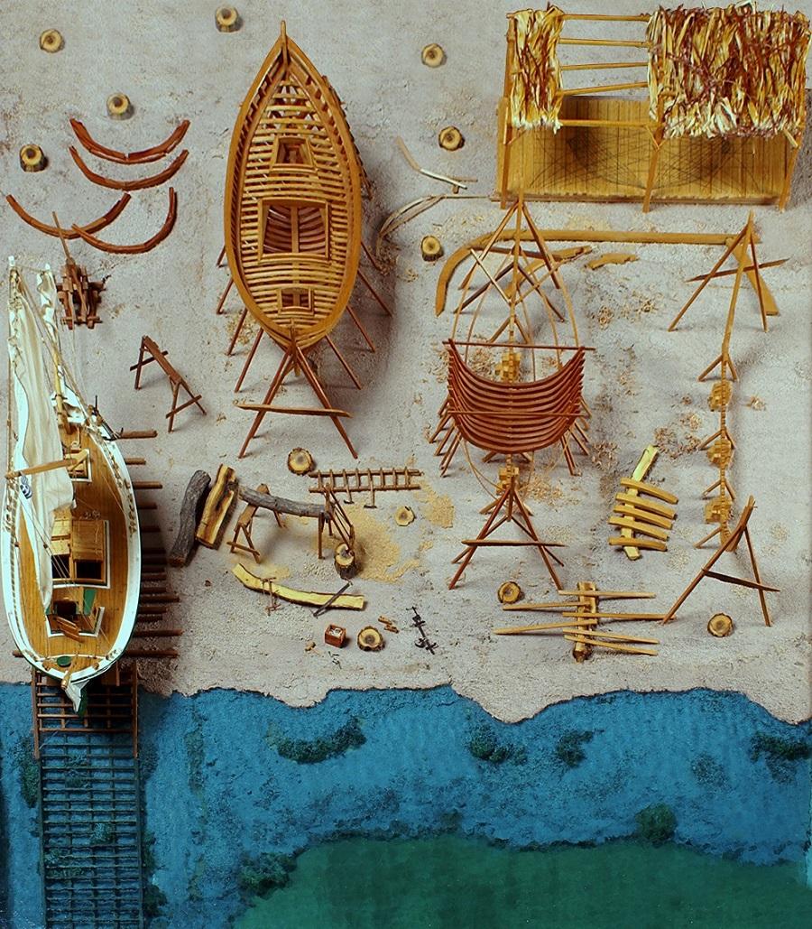 «Από τα μεγάλα στα μικρά ναυπηγήματα» Έκθεση μοντέλων ελληνικών παραδοσιακών σκαριών